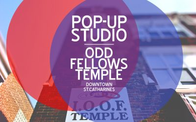 Pop-Up Studio - Odd Fellows Temple