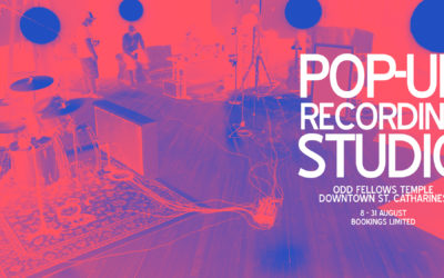Odd Fellows POP-UP RECORDING STUDIO - August 2017